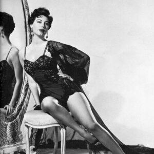 Ava Gardner – Historical Pin Up