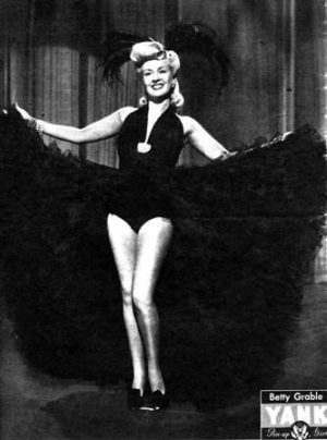 Betty Grable – Historical Pin Up
