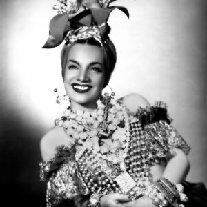 Carmen Miranda – Historical Pin Up