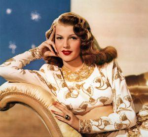 Rita Hayworth – Historical Pin Up