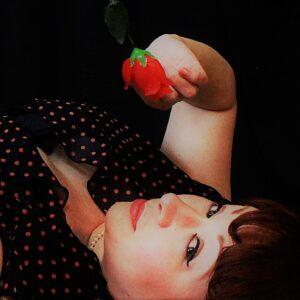Model: Ginger Honeybear photo: Elisha Brilhaunte of of Catastrophe Photography in studio in Tacoma, WA