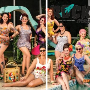 Central Florida Luscious Ladies on the cover of Rocket Magazine